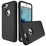 iPhone 7 Plus Case, ATGOIN Dual Layer iPhone 7 Plus Case EXTREME Shock-Absorption Tri-Layer Accessories Protection Heavy Duty Cover Protective Cases for iPhone 7 Plus (2016) - Blac...