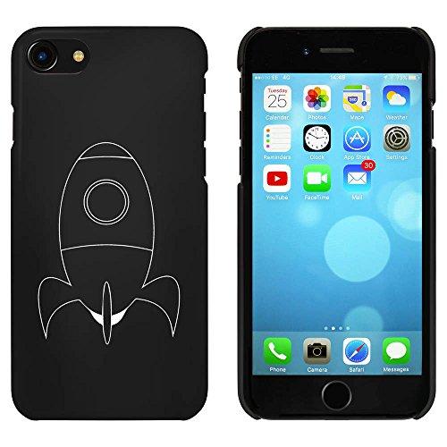 Noir 'Fusée' étui / housse pour iPhone 7 (MC00055995)
