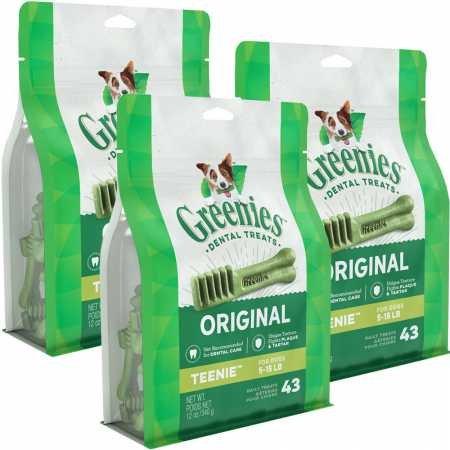 Greenies 3 PACK TEENIE (129 BONES) Review