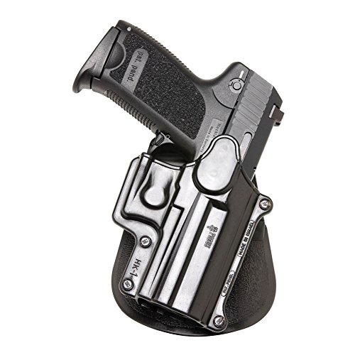 (Fobus Roto Holster Paddle Left Hand HK1RPL H&K Compact & USP 9mm/40 & 45, Full Size 9mm/40 / S&W Sigma Series 9/40 VE/E/G / FN49 / Ruger SR9 / Taurus Millenium .40 (Pro models refer to SP11B))