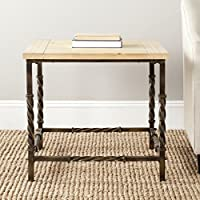 Safavieh American Homes Collection Tonya Natural Color Side Table
