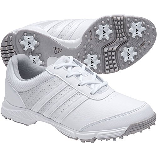 adidas Women's Tech Response Golf Shoe, White, 5.5 M US