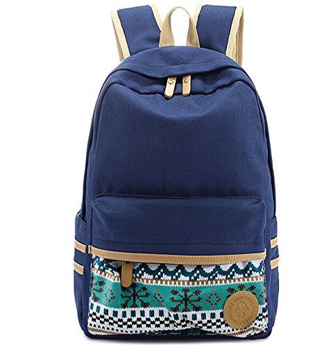 Carejoy® Cute Fashion Women's Canvas Travel Satchel Shoulder Bag Backpack School Rucksack