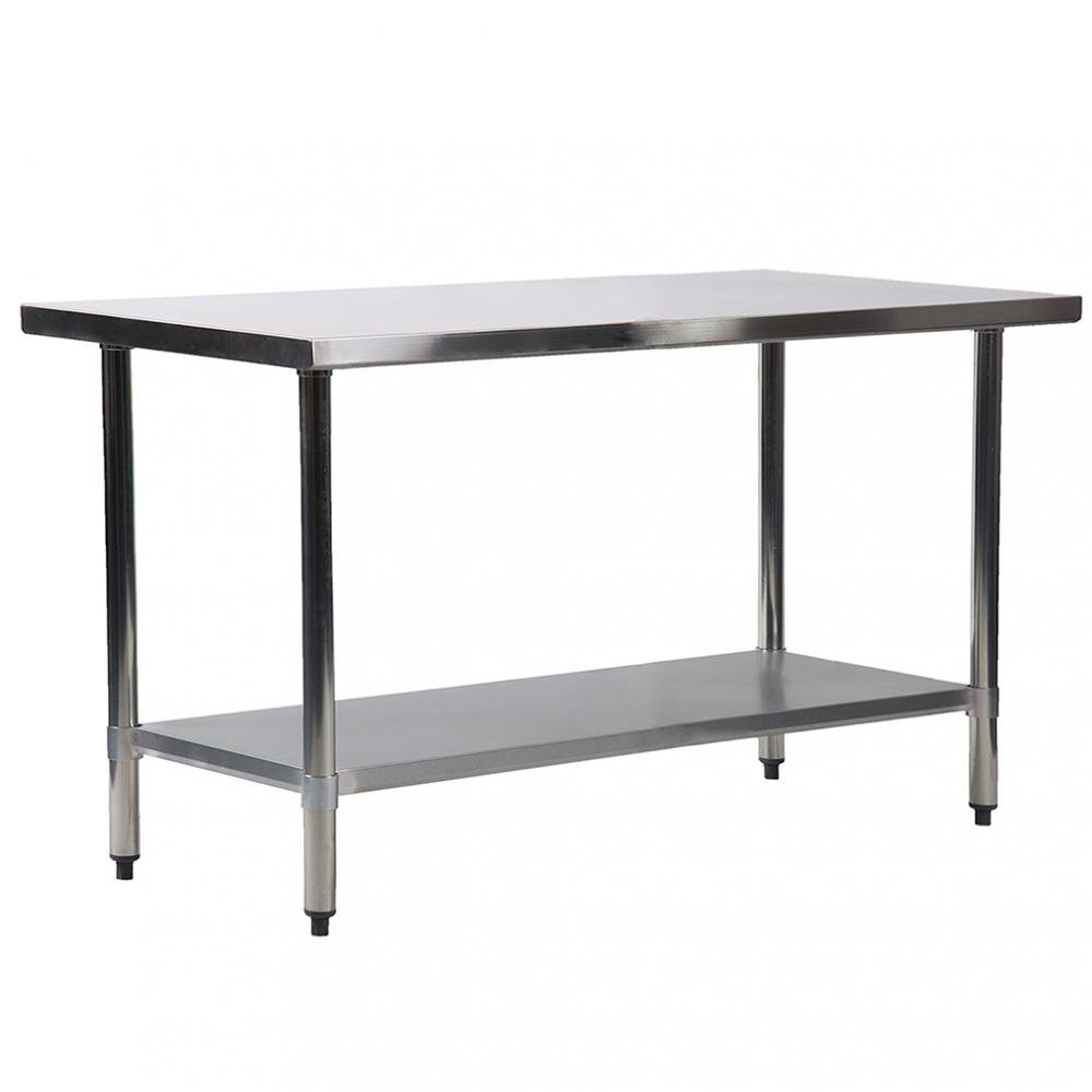 BestMassage 24''x60'' Stainless Steel Kitchen Work Table Commercial Kitchen Restaurant Table by BestMassage (Image #1)