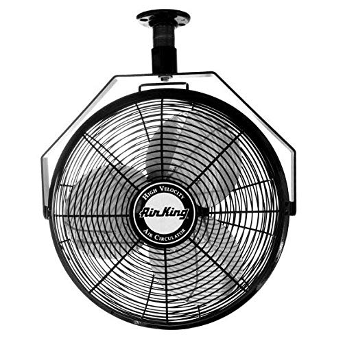 Image of Air King 9718 18-Inch Industrial Grade Ceiling Mount Fan Home and Kitchen