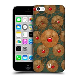 Mix Christmas Rudolph Cookies Back Case For Apple iPhone 5c