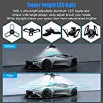 Aipsun LED Garage Light 2 Pack 80W Black Deformable Garage Ceiling Light 8000LM E26/E27 LED Light Bulbs for Workshop… 10