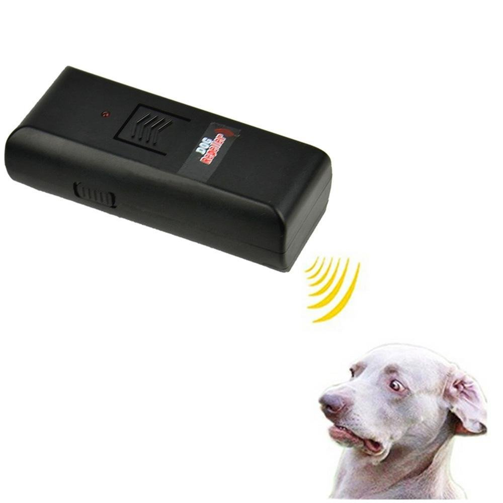 Dog Repellent Repeller Training Torch Pet Chaser Ultrasonic Aggressive Bark Stop Barking Control Device