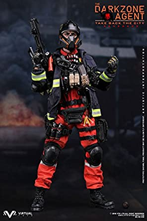 "1//6 Scale VTS VM-018 The Darkzone Agent Renegade ""C"" Hydro Pouch w// Tube"