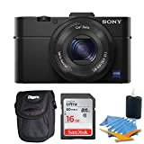 Sony DSC-RX100M II DSC-RX100M2 DSC-RX100MII RX100M2 RX100MII DSC-RX100M II Cyber-shot Digital Still Camera 20.2MP, Black Bundle w/ 16GB Ultra SDHC Memory Card, Deluxe Padded Case, & Lens Cleaning Kit Review