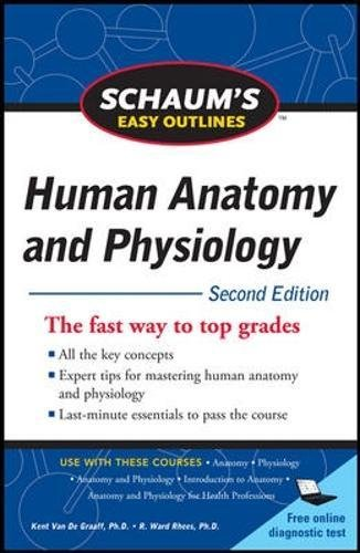 Schaum's Easy Outline of Human Anatomy and Physiology, Second Edition (Schaum's Easy - Price Ph Vans