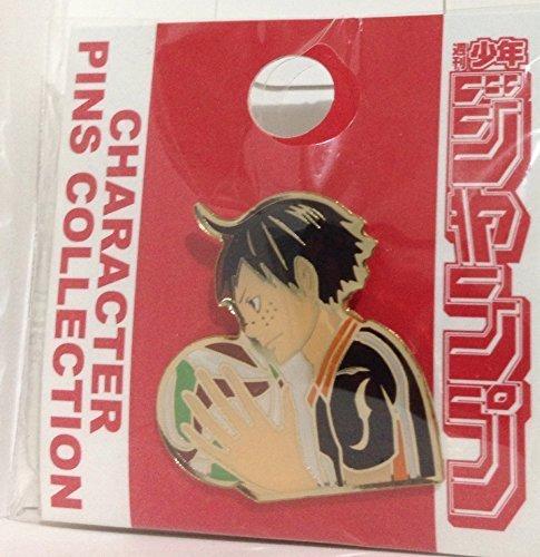 Haiky? !! character Pins collection Tadashi Yamaguchi jump Shop Limited pin badge Pins Yamaguchi