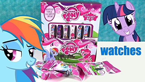 My Little Pony Mystery Watch Blind Pack Touch LED Watch - Pony Watch