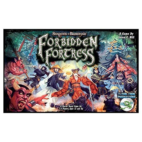 Flying Frog Productions: Shadows of Brimstone: Forbidden Fortress Core Set