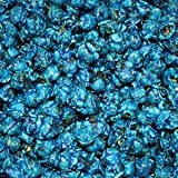 Blue Popcorn Blue Raspberry Flavor Blue Candy Sugar Coated 1 Pound