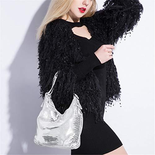Light for Tote Handbag Bags Gold Women Leather Hobos Bag cqp04WyA