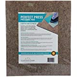 """Quilter's Pressing Pad (Mat) 14"""" x 16""""(224 sq in) Quality Wool Ironing Mat. Quilting Embroidery Stitching Sewing Applique Work Patchwork Garment Work. Crisply Pressed Seams with Professional Results"""