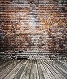 Simple Photography Backdrops 200*150cm(6.5*5ft) Broken Wooden Bricks Wall Background Vinyl Photography Backdrop Photo Studio Lk-0009