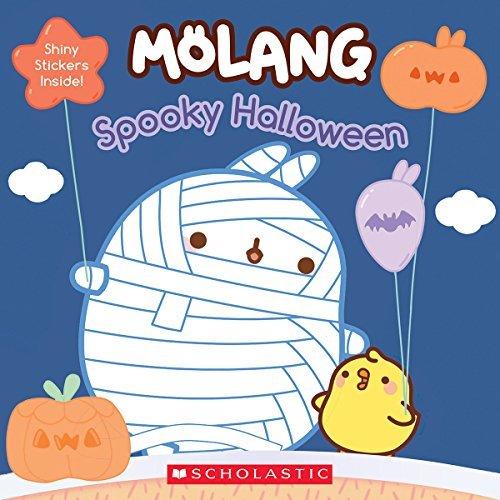 Spooky Halloween (Molang) (Spider Pumpkin Halloween)