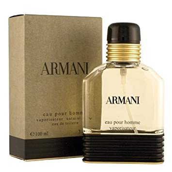 e33edb097c74 Amazon.com   Armani Eau Pour Homme by Giorgio Armani Men 3.4 oz Eau de  Toilette Spray SEALED   Eau De Parfums   Beauty