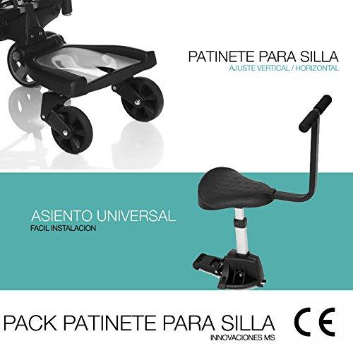 Patinete con Asiento Universal de Innovaciones MS: Amazon.es: Juguetes y juegos