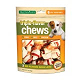 Triple-Flavor Chews Dog Treat (6-Pack), My Pet Supplies