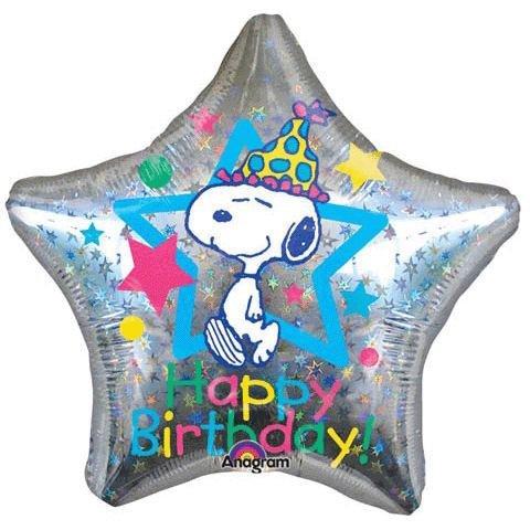 Snoopy Jumbo Happy Birthday Balloon product image