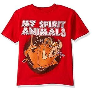 Disney Boys' Little Short Sleeve Crew Neck T-Shirt