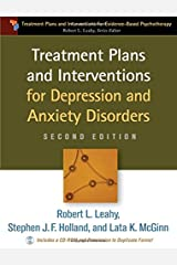 Treatment Plans and Interventions for Depression and Anxiety Disorders, 2e (Treatment Plans and Interventions for Evidence-Based Psychotherapy) Paperback