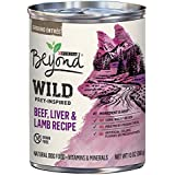 Purina Beyond Wild Grain Free Natural High Protein, Beef, Liver & Lamb Recipe Canned Dog Food, 13 oz, case of 12