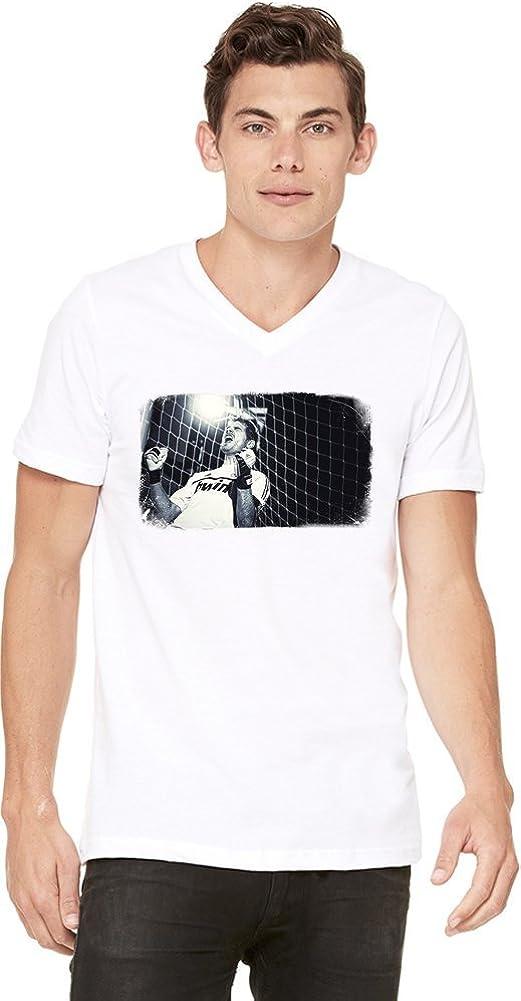 Scream Iker Casillas Camiseta con cuello en V de los hombres ...