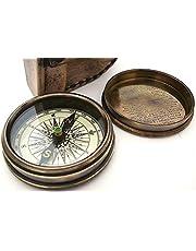Robert Frost gedicht kompas-zak kompas met lederen tas