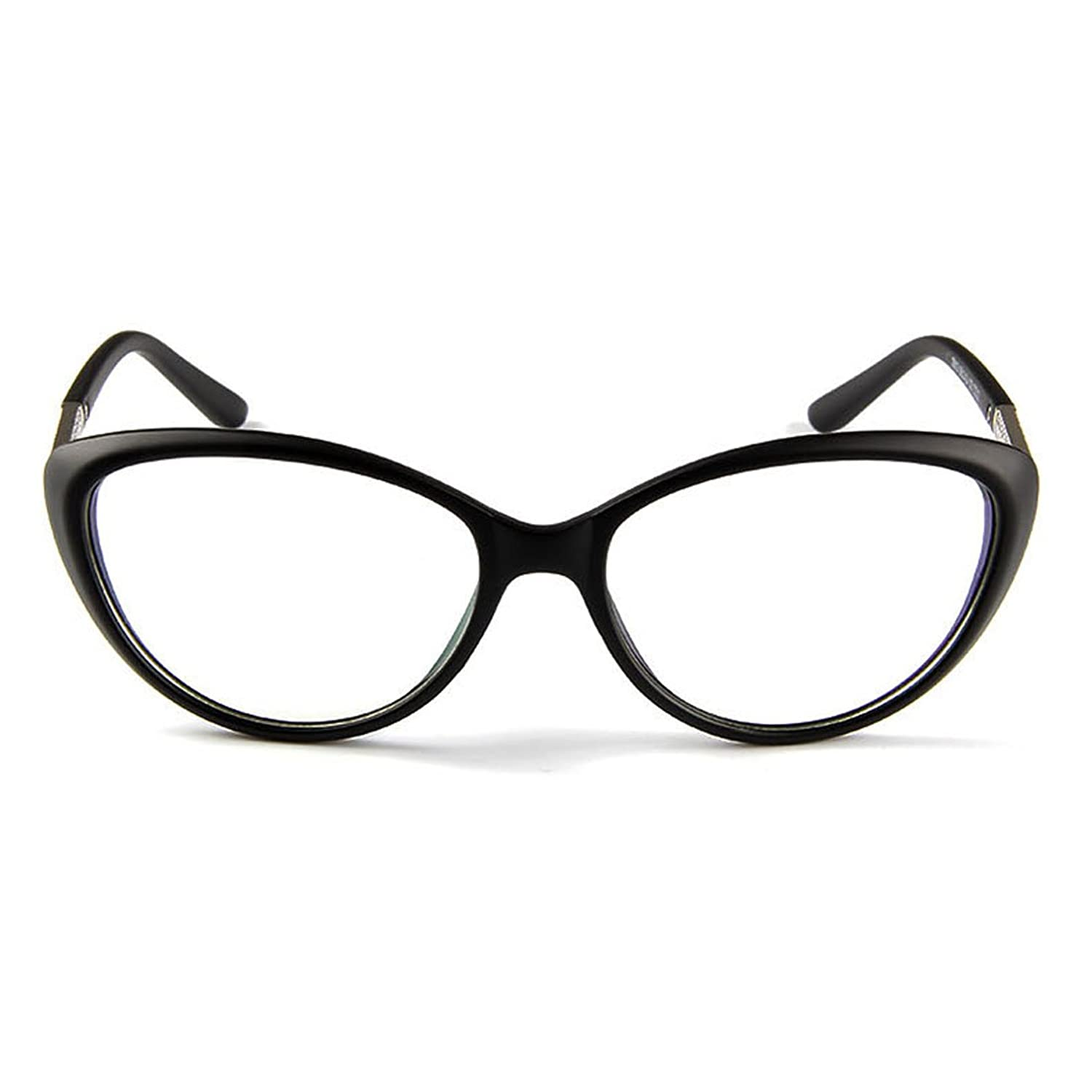 chanel reading glasses. amazon.com: d.king women fashion cat eyeglasses frames clear lens 56mm blakc: clothing chanel reading glasses