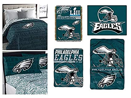 3fad49a1e6d Image Unavailable. Image not available for. Color  Northwest NFL  Philadelphia Eagles ...