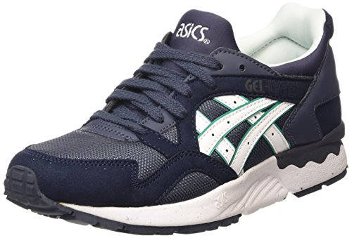 Asics - Gel-Lyte V, Zapatillas Unisex Adulto, Azul (Indian Ink/White 5001), 43 EU
