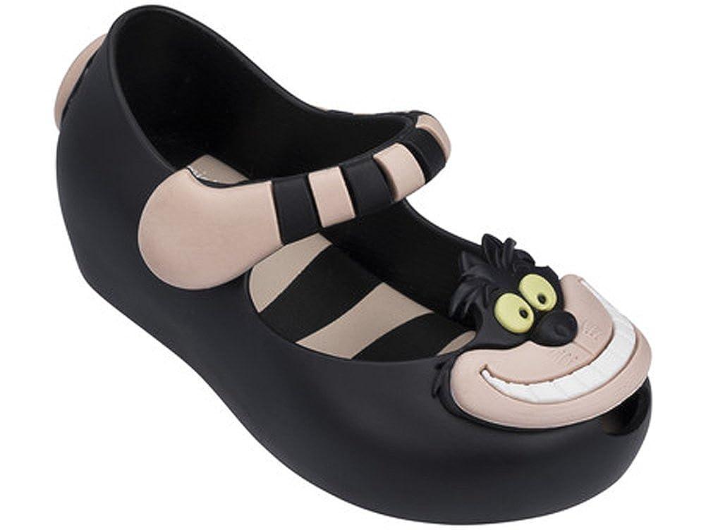 Melissa Girls Mini Ultragirl Alice W Mary Jane Shoe Black Pink Size 5 M US Toddler