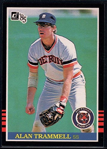 Baseball MLB 1985 Donruss #171 Alan Trammell Tigers