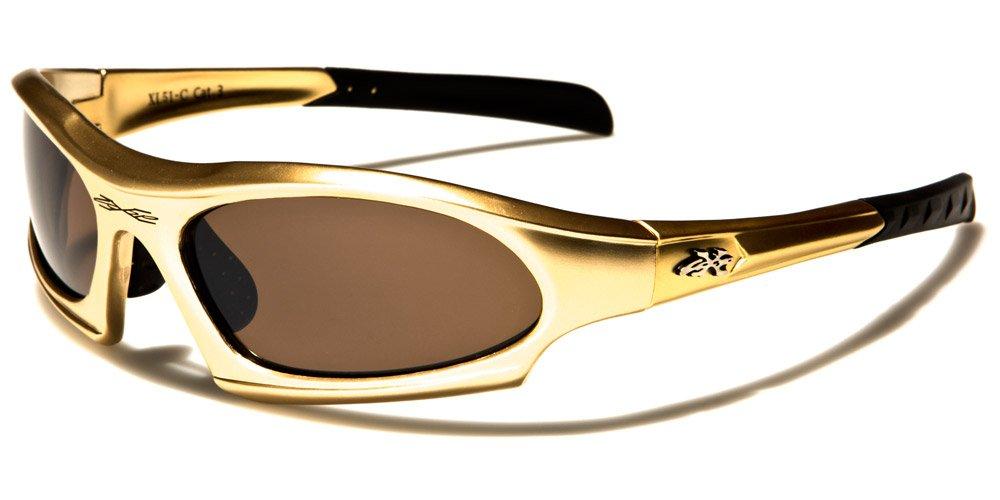 X-Loop Deluxe Gafas de Sol - Deporte - Esqui - Ciclismo UV400 (Incluye Estuche, Funda - Vault Case)