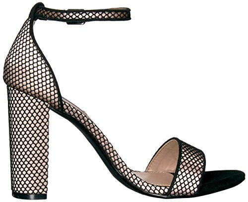 Madden Dress Carrson Steve Sandal Women's Mesh Black pwHqOZq