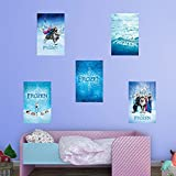 Fathead Peel and Stick Decals Disney Frozen Movie Posters RealBig Collection Wall Decal