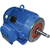 WEG 00158EP3E145JM-W22 JM Type TEFC High Efficiency Close Coupled Electric Pump Motor,1.5 HP, 3-Phase, 1760 RPM...