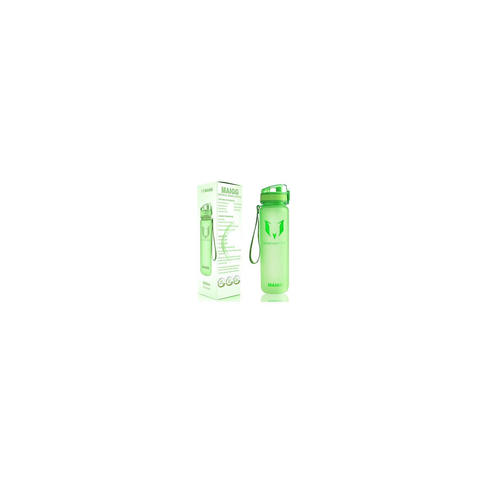 519604ee22 MAIGG Best Sports Water Bottle – 17oz & 32oz – Eco Friendly & BPA ...
