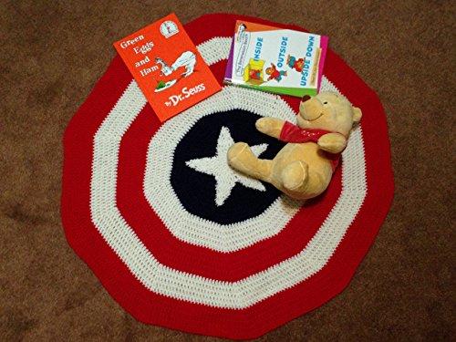 Crochet Baby Blanket - All American