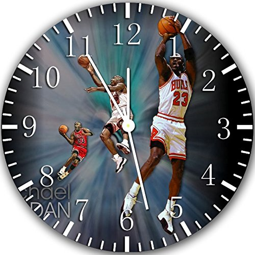 Jordan Frameless Borderless Wall Clock Z76 Nice For Gift or Room Wall Decor