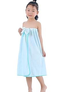 883e5864c2 Amazon.com  Polka Dotted Terry Bath Wrap