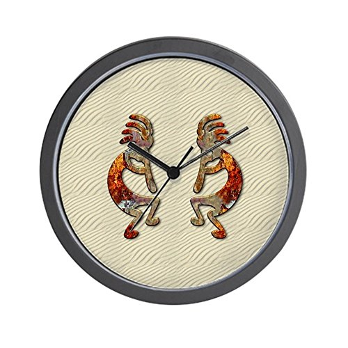 CafePress - KOKOPELLI'S Flute Wall Clock - Unique Decorative 10