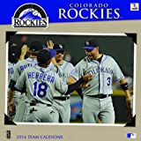 Turner - Perfect Timing 2014 Colorado Rockies Team Wall Calendar, 12 x 12 Inches (8011415)