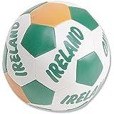 "6"" Ireland Green, White and Gold Soft Irish Soccer Ball"