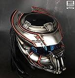 Pro Predator Motorcycle Helmet Dot SY39 Silver (S)