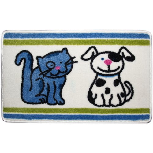 BigKitchen Cats and Dogs Comfortably 30 x 20 Inch Soft Kids Bath Rug